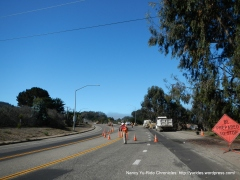 Pecho Valley Rd-sewer project