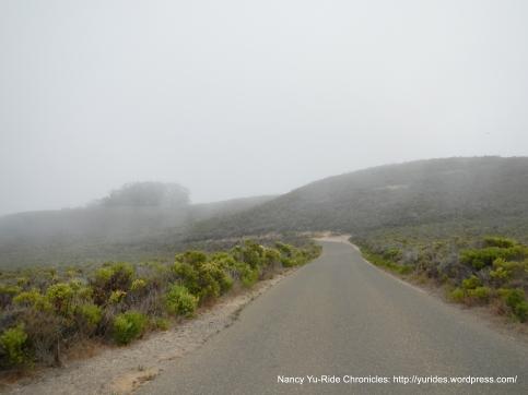 U-turn on Pecho Valley Rd