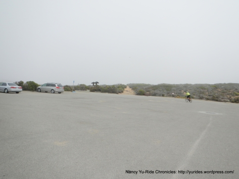 Sand Spit parking lot