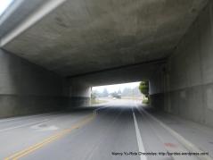 Main St-CA-1 underpass