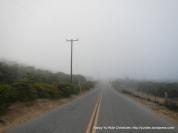 lingering fog