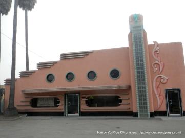 Art Deco style facade on Main St