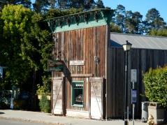 old western facade