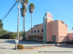 Art Deco facade on Main St