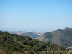 view of Santa Lucia mountian range