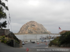 view of Morro Rock from Beach St
