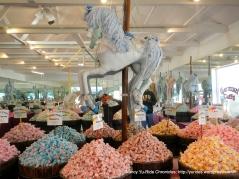 colorful taffy