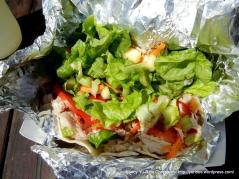 smoked Albacore taco