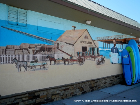Cayucas mural