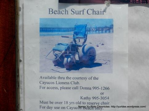 Beach Surf Chair