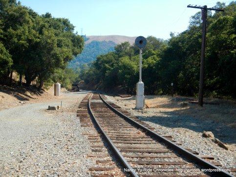 Niles Canyon RR tracks