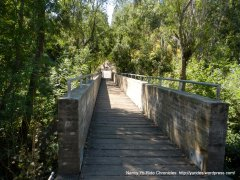 Cull Canyon footbridge