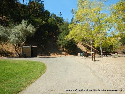 Lunch-Footbridge picnic area