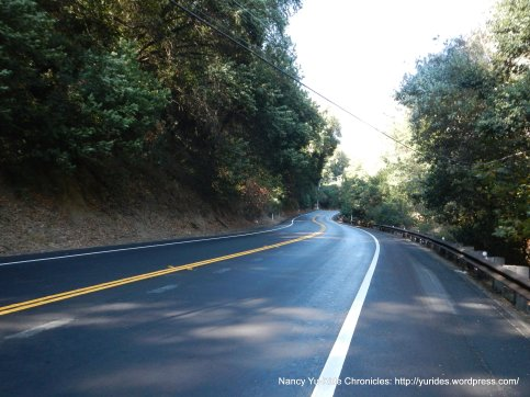 new pavement-Crow Canyon Rd