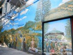 murals on Plaza St