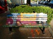 bench mural