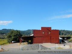 red barn-Dry Creek Rd
