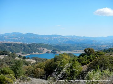 view of Lake Sonoma
