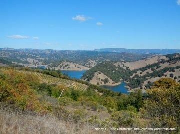 view of Lake Sonoma