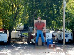 Paul Bunyan at RV camp