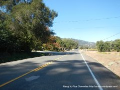 CA-128 W/Oat Valley Rd