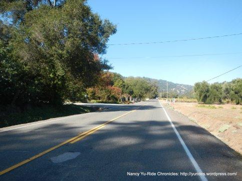 CA-128 W/Oat Valley Rd