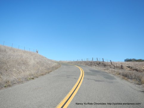 to open hillsides