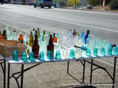 colored glass collectibles