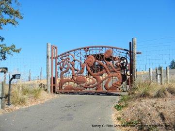 Wing Canyon gate