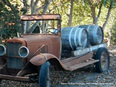 vintage winery truck
