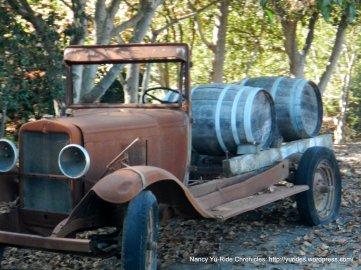 vintage winery truck