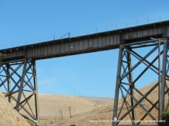 train trestle over Altamont Pass