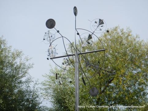 Aero-5 kinetic sculpture