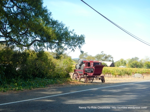 White Oak Winery wagon