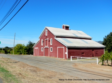 classic red barn