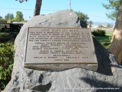 park plaque