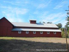 Bear Valley Visitor Center-red barn
