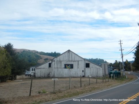 Nicasio Cheese Factory barn