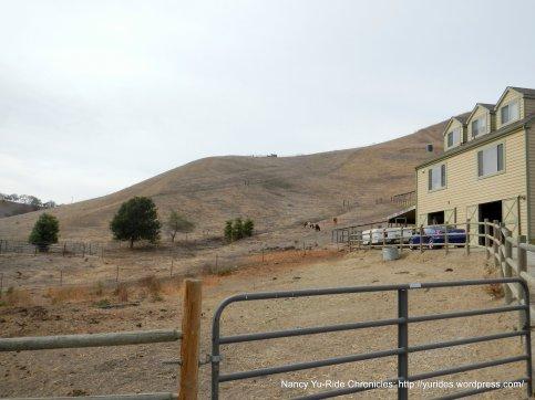 horse ranch/house