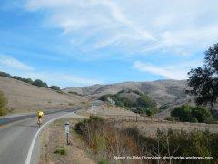 climb up Pt Reyes Petaluma Rd