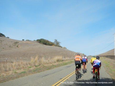 climb up Hicks Valley Rd