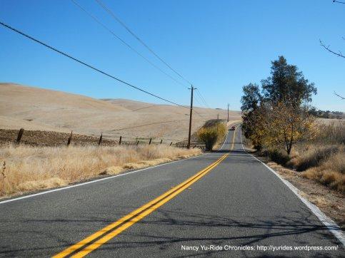rolling terrain-Lake Herman Rd