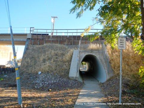 mini tunnel on Morello