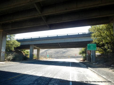 to Franklin Canyon-Hwy 4 underpass
