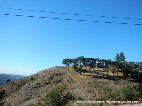 ridge top view