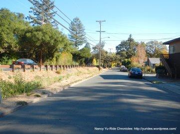 Bike Route-San Anselmo Ave