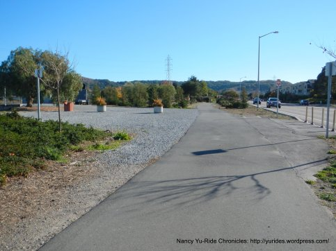 multi-use path to Paradise Dr