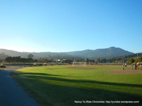 multi-use path thru soccer field
