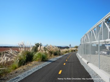 Multi-use trail along BART rails