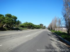wide open lanes-Harbor Bay Pkwy
